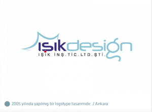 Işık Design logo tasarımı