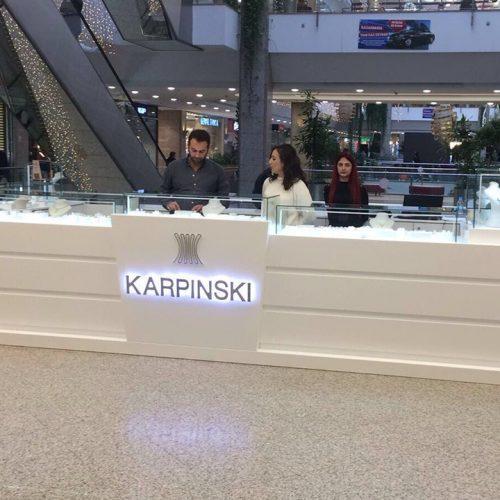 Karpinski Kiosk Stand Tasarımı - AVM Kiosk Tasarımı