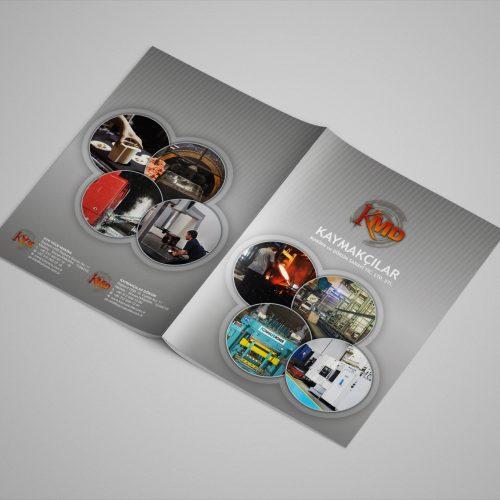 Kaymakçılar Döküm Katalog Tasarımı