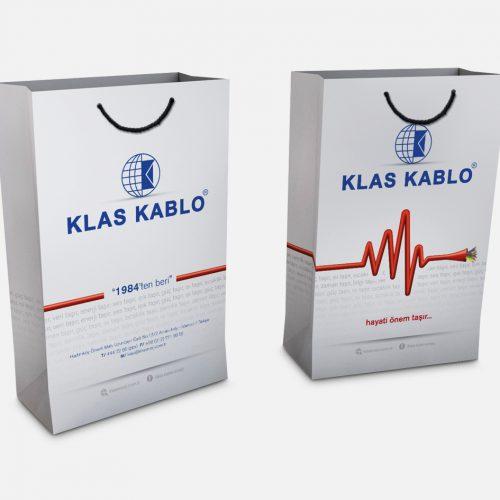 Klas Kablo Karton Çanta Tasarımı