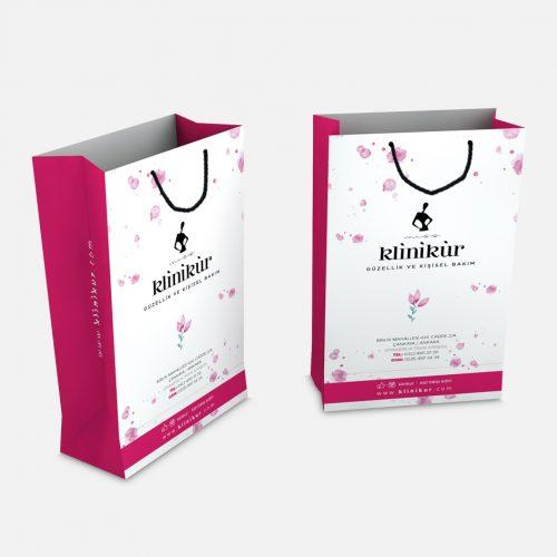 Klinikür Karton Çanta Tasarımı
