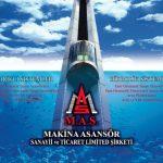 MAS Asansör Gemici Takvim Aynası tasarımı