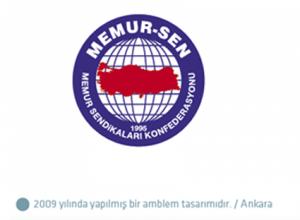 Memur Sen logo tasarımı