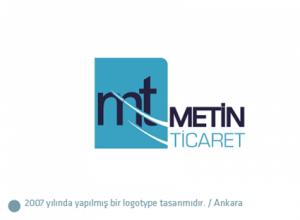 Metin Ticaret logo tasarımı