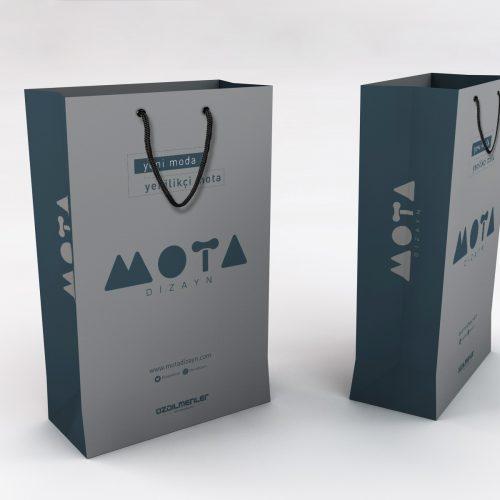 Mota Dizayn Karton Çanta Tasarımı