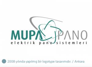 Mupa Pano logo tasarımı
