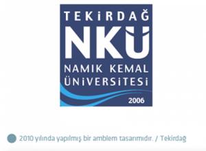 Namık Kemal Üniversitesi logo tasarımı