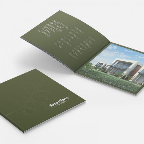 Natureverte Katalog Tasarımı