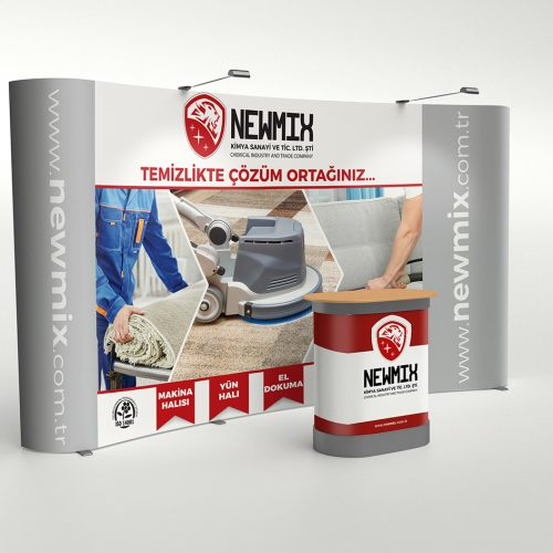 Newmix Örümcek Stand Tasarımı