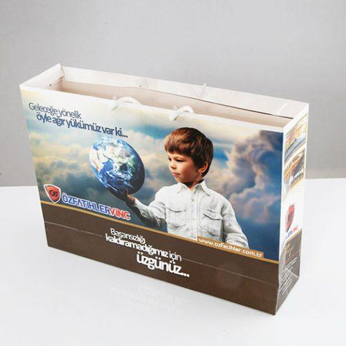Özfatihler Vinç Karton Çanta tasarımı