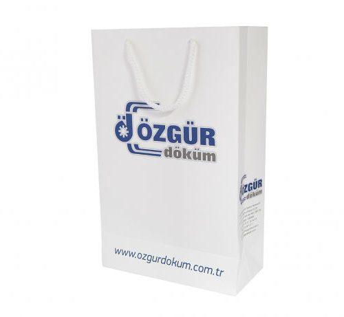 Özgür Döküm Karton Çanta tasarımı