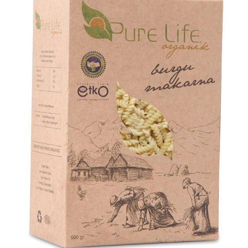 Pure Life Organik Ürün Kutusu tasarımı
