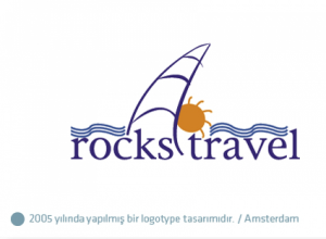 Rocks Travel logo tasarımı