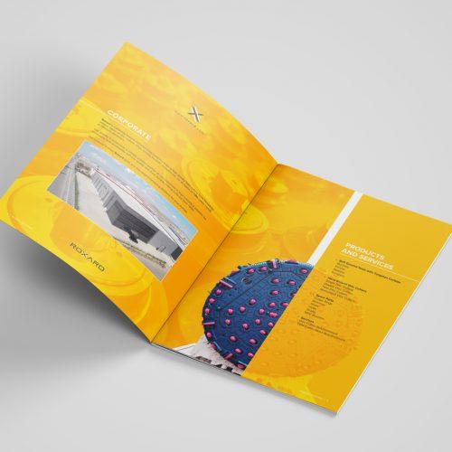 Roxard Industries Katalog Tasarımı