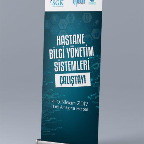 SGK Roll Up Banner Tasarımı