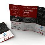 Seviye Eğitim Kurumları A3 2 Kırım Broşür Tasarımı