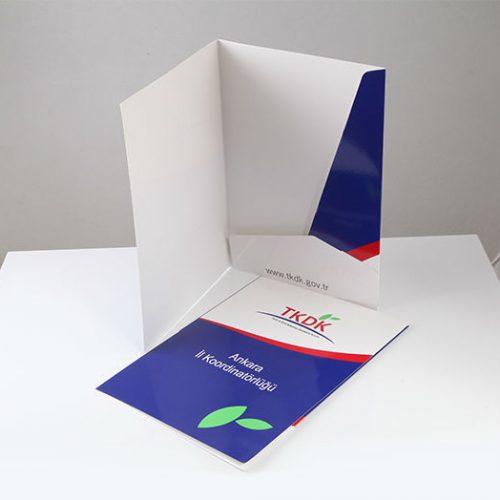 TKDK kapaklı dosyası tasarımı