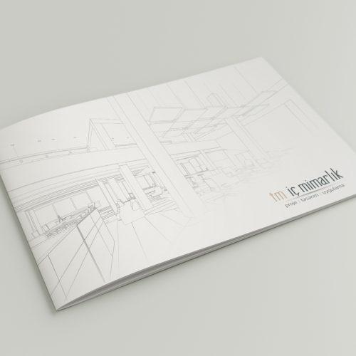 TM İç Mimarlık Kataloğ tasarımı