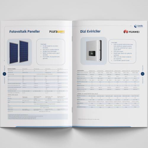 Tardis Enerji Katalog Tasarımı