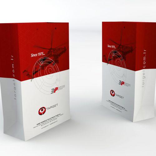 Target Group Karton Çanta Tasarımı