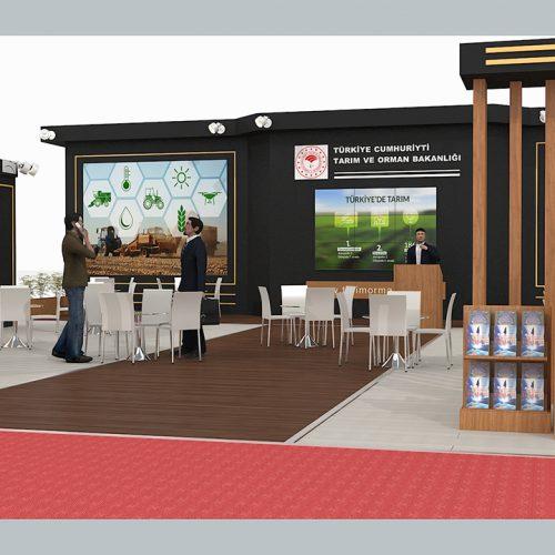 Tarım ve Orman Bakanlığı Eskişehir  Fuarı Stand Tasarımı ve Kurulumu