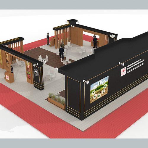 Tarım ve Orman Bakanlığı Konya Tarım ve Hayvancılık Fuarı Stand Tasarımı ve Kurulumu
