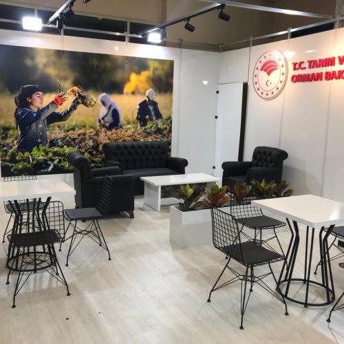Tarım ve Orman Bakanlığı Sivas Tarım ve Hayvancılık Fuarı Stand Tasarımı ve Kurulumu