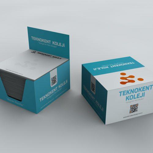 Teknokent Koleji Küpbloknot Tasarımı