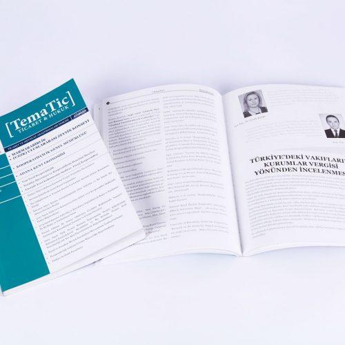 Tematic Dergi tasarımı