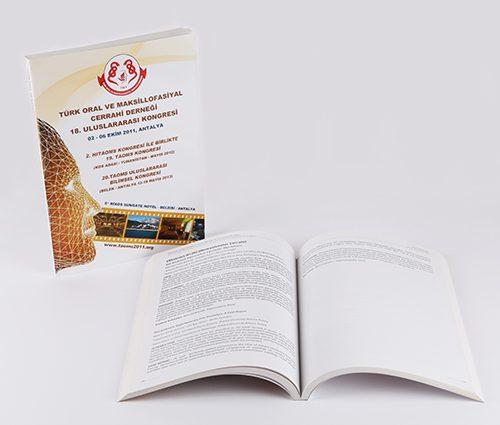 Türk Oral ve Maksillofasiyal Cerrahi Derneği Kitap Tasarımı