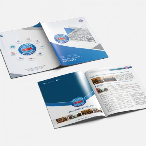 Ulaştırma Memur-Sen Faaliyet Raporu Tasarımı