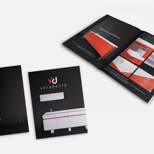 Veradenta Katalog Tasarımı