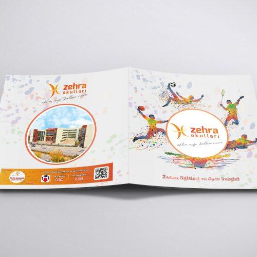 Zehra Koleji Katalog Tasarımı