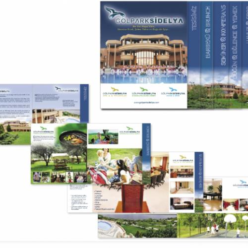 gölpark sidelya otel tanıtım kataloğu