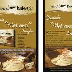 Gönül Kahvesi El İlanı Tasarımı