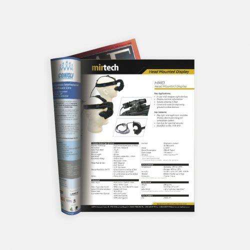 mirtech dergi reklamı tasarımı