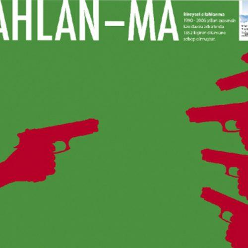silahlanma gazete reklamı tasarımı