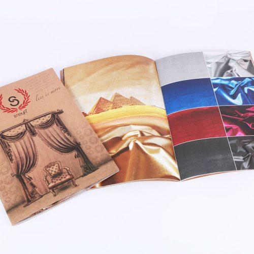steyfi perde katalog tasarımı